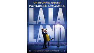 Affiche de la comédie musicale «La La Land».