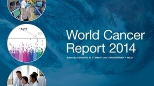 Capa do relatório anual sobre o câncer publicado pela OMS.