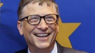 Le fondateur de Microsoft, Bill Gates.