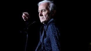 Charles Aznavour murió el lunes a los 94 años en el sureste de Francia.
