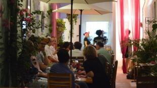 El restaurante Interno in Cartagena, Colombia