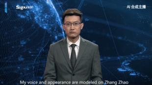 Il existe pour le moment deux modèles de présentateurs virtuels: un anglophone et une sinophone.