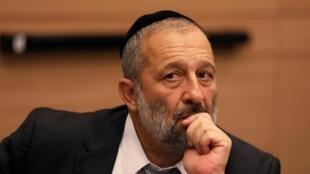 La fermeture des portes aux visiteurs en provenance de certains pays d'Asie à été prise par le ministre israélien de l'Intérieur Aryeh Deri (ici, à la Knesset, le 13 septembre 2017).