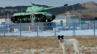 Le village de Malokurilskoye sur l'île de Shikotan, dans les Kouriles du Sud en Russie, le 18 décembre 2016.