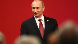 Tổng thống Nga Vladimir Putin tại thượng đỉnh APEC, Lima, Peru, ngày 19/11/2016.