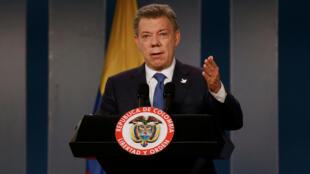El presidente colombiano, Juan Manuel Santos.