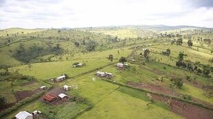 A village in North Kivu, DRC