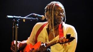 Geoffrey Oryema, en juin 2010, à Guyancourt près de Paris.