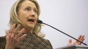 U.S. Secretary of State Hillary Clinton in Istanbul, 7 June, 2012