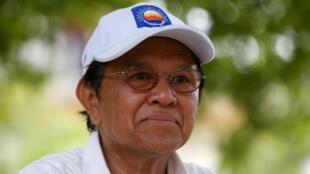 Ông Kem Sokha. Ảnh chụp năm 2017 tại tỉnh Prey Veng.