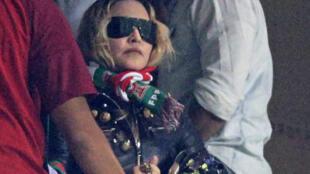 La star de la musique pop Madonna est au Portugal pour le tournage du clip video de son dernier album.