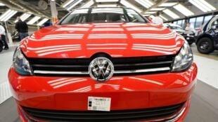Chiếc Golf VII của Volkswagen tại nhà máy Wolfsburg. Ảnh tháng 2/2013.
