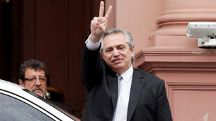 O presidente argentino, Alberto Fernández, chega nesta quinta-feira (30) na Europa.