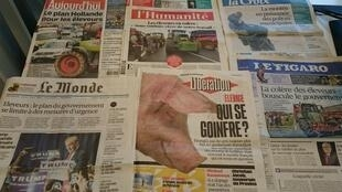 Diários franceses 22/07/2015
