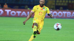 Le Béninois Stéphane Sessègnon lors de la CAN 2019.