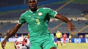 Le défenseur sénégalais Kalidou Koulibaly lors de la CAN 2019.