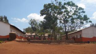 A primary school in Karatu district, Tanzania