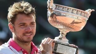 O suíço Stan Wawrinka vence Roland Garros