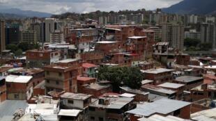 Une vue du quartier de Petare à Caracas, le 28 mai 2019.