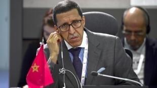 Le président de la Configuration de la République Centrafricaine de la Commission de consolidation de la paix des Nations unies, Omar Hilale.