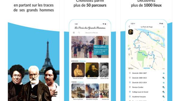 """""""Paris của các vĩ nhân"""" với 1.000 địa điểm tham quan theo chuyên đề."""