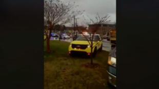 Novo tiroteio em escola dos Estados Unidos, a cerca de 90 minutos da capital americana, deixa pelo menos três feridos.