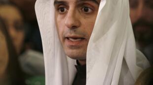 Adel al-Jubeir, embaixador saudita nos Estados Unidos, em foto de 2007.