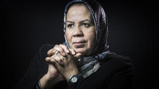 Latifa Ibn Ziaten whose son was a victim of Islamist gunman Mohamed Merah