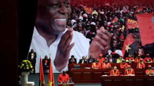 José Eduardo dos Santos, presidente do MPLA. 17/08/16