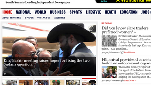 South Sudan New Times website