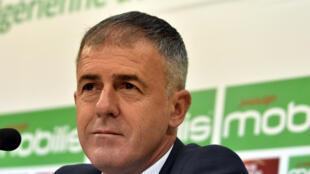 L'Espagnol Lucas Alcaraz, nouveau sélectionneur de l'Algérie.