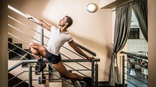 O bailarino brasileiro Ruan Galdino.