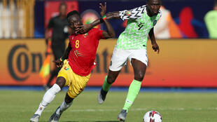 Le Guinéen Naby Keïta et le Nigérian Wilfred Ndidi.