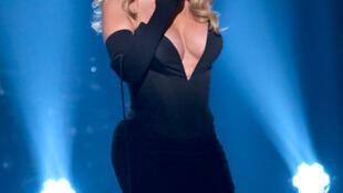 Mariah Carey nhân lễ trao giải BET Honors tháng 2/2014 - DR