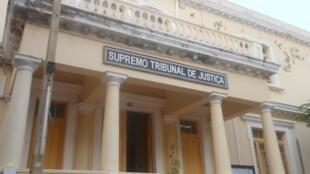 Palácio do Supremo Tribunal de Justiça em Cabo Verde, onde dirigente sindical é levado a Tribunal