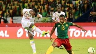 Le Sénégalais Baldé Diao Keita et le Camerounais Sébastien Clovis Siani.