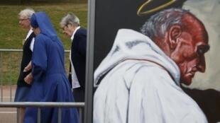 Portrait du père Jacques Hamel, assassiné Saint-Etienne-du-Rouvray, le 26 juillet 2016.