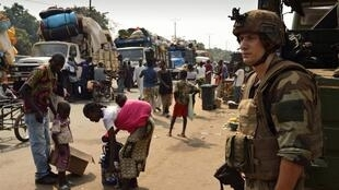 Des casques bleus en Centrafrique (illustration).