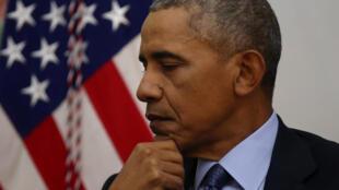 O presidente Obama faz discurso de despedida em Chicago.