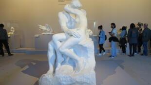 Le Baiser (1881-1882), Auguste Rodin, Grand Palais, Paris.