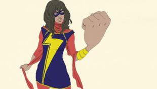 Kamala Khan, la nouvelle Miss Marvel.