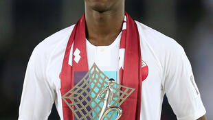 Qatar's Almoez Ali was voted the most valuable player of the Asian Cup after scoring a record nine goals.