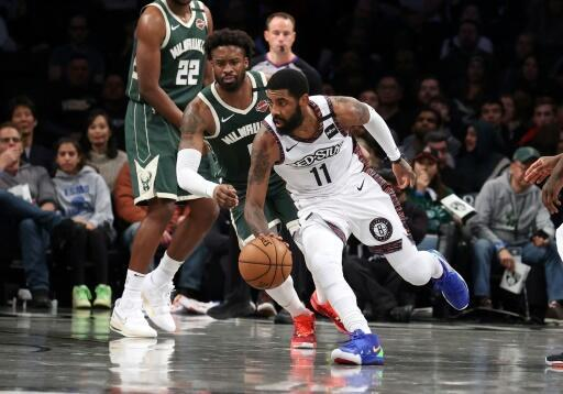 Brooklyn Nets' Kyrie Irving suffers knee sprain in loss to Wizards
