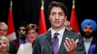 O premiê canadense Justin Trudeau foi um dos líderes internacionais que se manifestou contra a decisão de Trump de impedir a entrada nos EUA de pessoas provenientes de sete países muçulmanos.