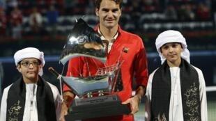Роджер Федерер выиграл Дубаи, 1 марта 2014 года