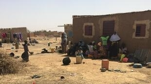 605 déplacés originaires de Silgadji se sont installés il y a 8 mois à Pazani près de Ouagadougou