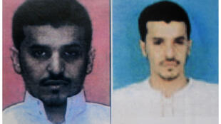 Two portraits of prime suspect Al-Asiri issued by the Yemeni police