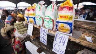 Un étal sur le marché de Kinshasa. (Image d'illustration).