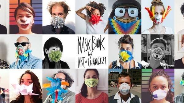 口罩書計畫是每個人表達對空氣污染的意見