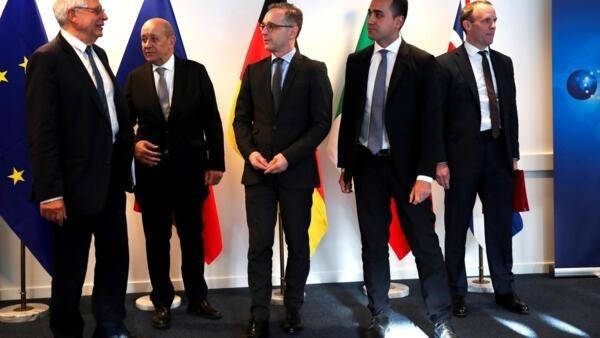 Reunião extraordinária dos ministros das Relações Exteriores da União Europeia sobre a crise entre os Estados Unidos e o Irã.